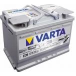 VARTA E39 70 Ah 760 A 0 (- +) 278x175x190