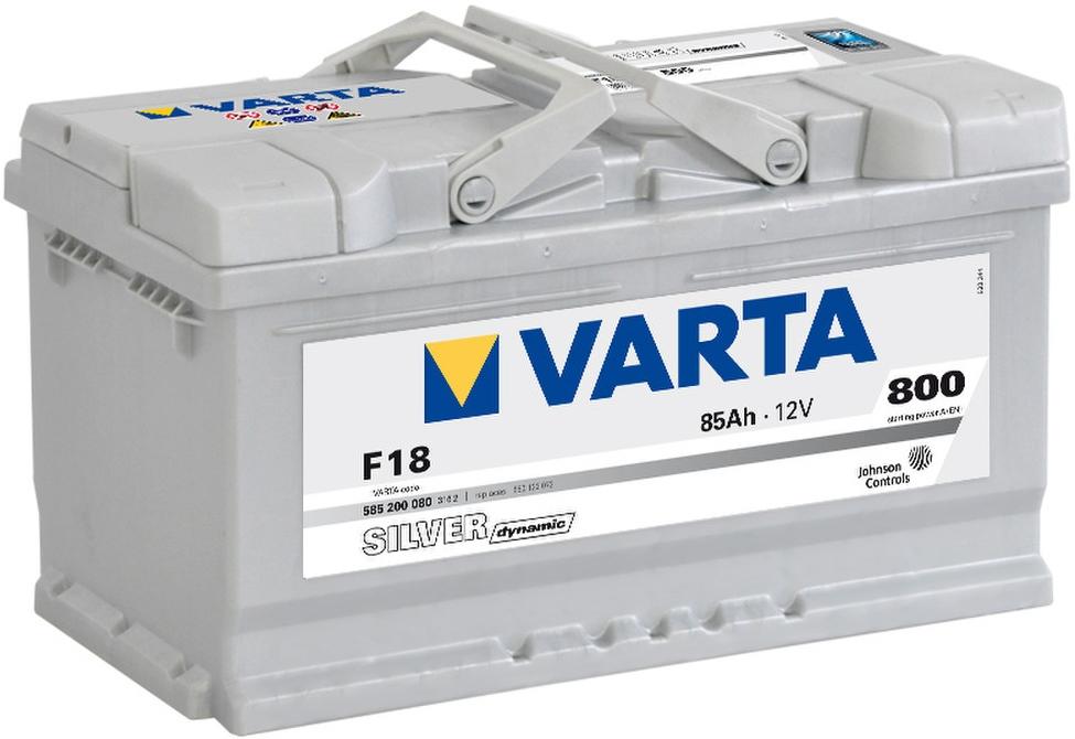 VARTA F18 85 Ah 800 A 0 (- +) 315x175x175