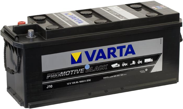 VARTA J10 135 Ah 1000 A 3 514x175x210