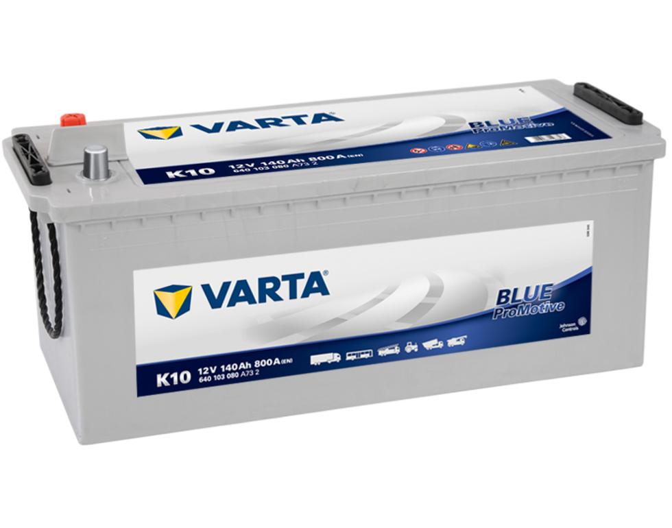 VARTA K10 140 Ah 800 A 3 513x189x223