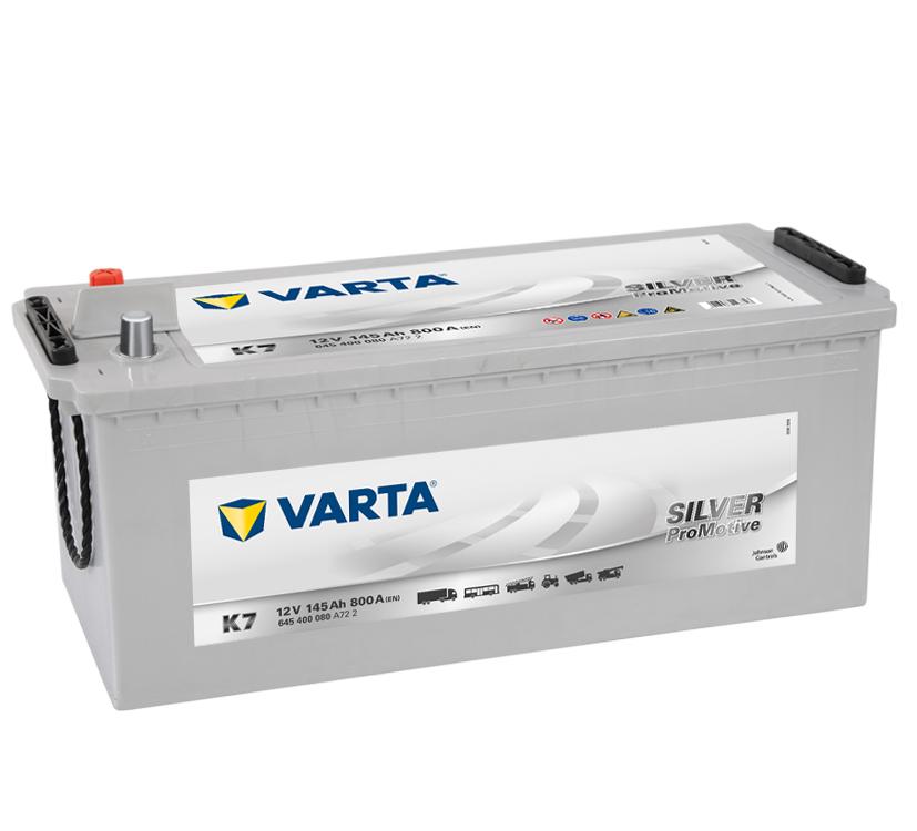 VARTA K7 145 Ah 800 A 3 513x189x223