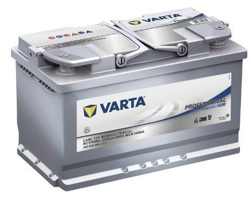VARTA LA80 80 Ah 800 A 0 (- +) 315x175x190