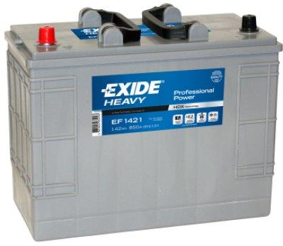 EXIDE EF1421  Professional Power 142Ah 850A (+ -) 349x175x290