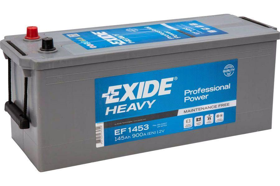 EXIDE EF1453  Professional Power 145Ah 900A (+ -) 513x189x223