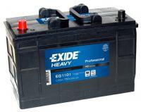 EXIDE EG1101  HD Professional 110Ah 750A (+ -) 349x175x235