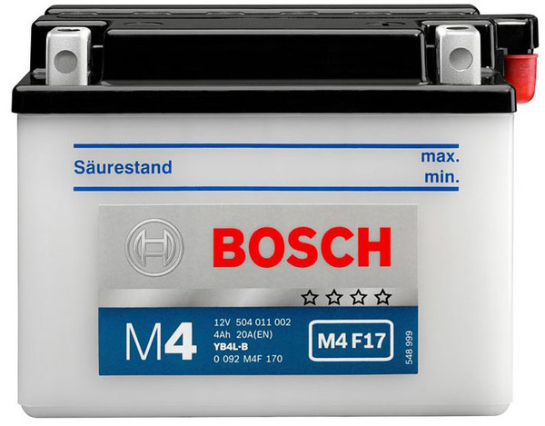 BOSCH MC Fresh pack 12 V 4 Ah 50 A 3 121x71x93
