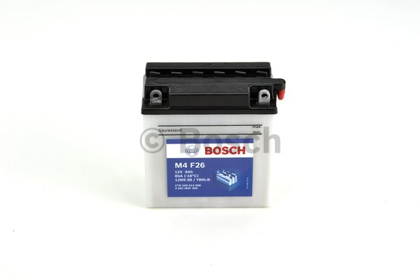 BOSCH M4F26 MC Fresh pack 12 V 9 Ah 85 A 3 136x76x140