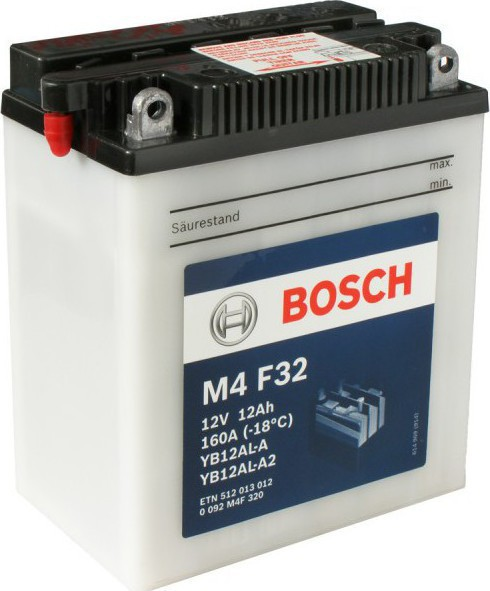 BOSCH MC Fresh pack 12 V 12 Ah 160 A 3 136x82x162