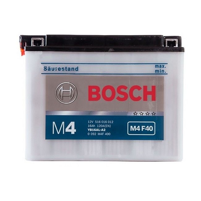 BOSCH M4F40 MC Fresh pack 12 V 16 Ah 180 A 3 205x71x164