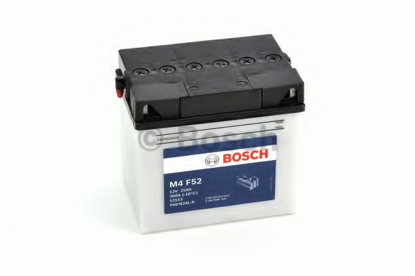 BOSCH M4F52 MC Fresh pack 12 V 25 Ah 300 A 3 186x130x171