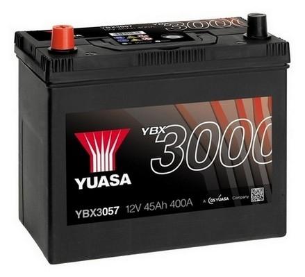 YUASA YBX3057 45Ah 400A SMF  1(+ -) 238x129x223