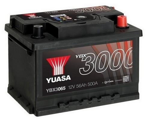 YUASA YBX3065 56Ah 500A SMF  0(- +) 243x175x175