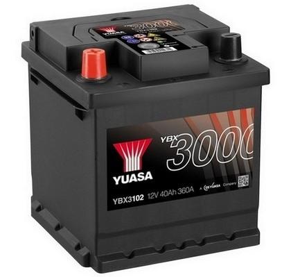 YUASA YBX3102 40Ah 360A SMF  1(+ -) 175x175x190