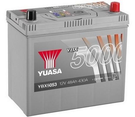 YUASA YBX5053 48Ah 430A Silver High Performance  0(- +) 238x129x223