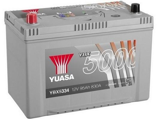 YUASA YBX5334 95Ah 830A Silver High Performance  1(+ -) 303x174x222