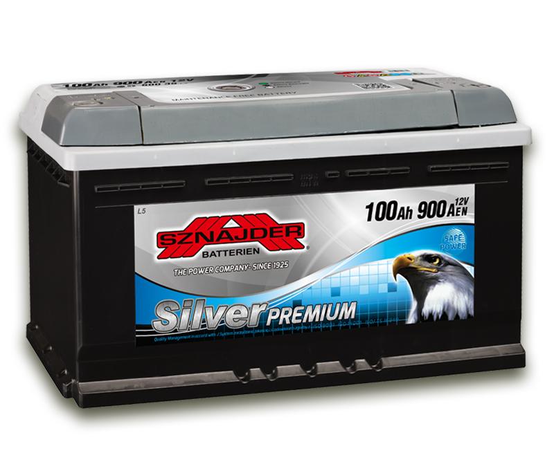 SZNAJDER 600 35 Silver Premium 100 Ah 850 A O(- +) 350x175x190