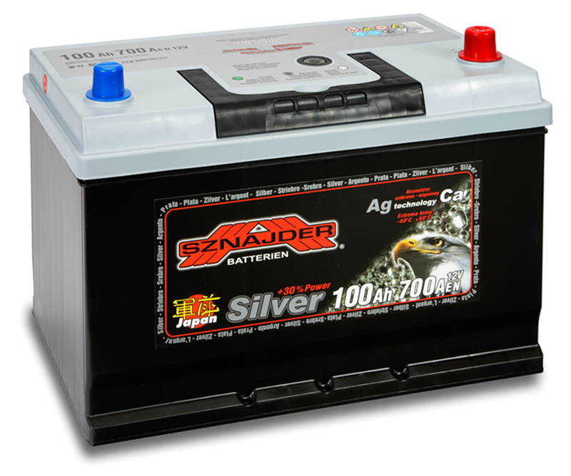 SZNAJDER 600 70 SILVER JAPAN 100 Ah 700 A O(- +) 303x175x200/220