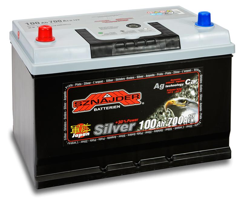 SZNAJDER 600 32 PLUS JAPAN 100 Ah 680 A O(- +) 303x175x200/220