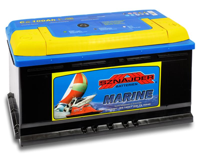 SZNAJDER 860 00 Marine 100 Ah - A O(- +) 350x175x190