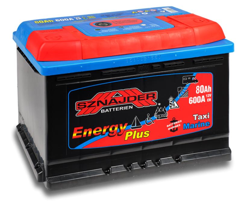 SZNAJDER 958 07 Energy Plus 80 Ah 600 A O(- +) 275x175x190