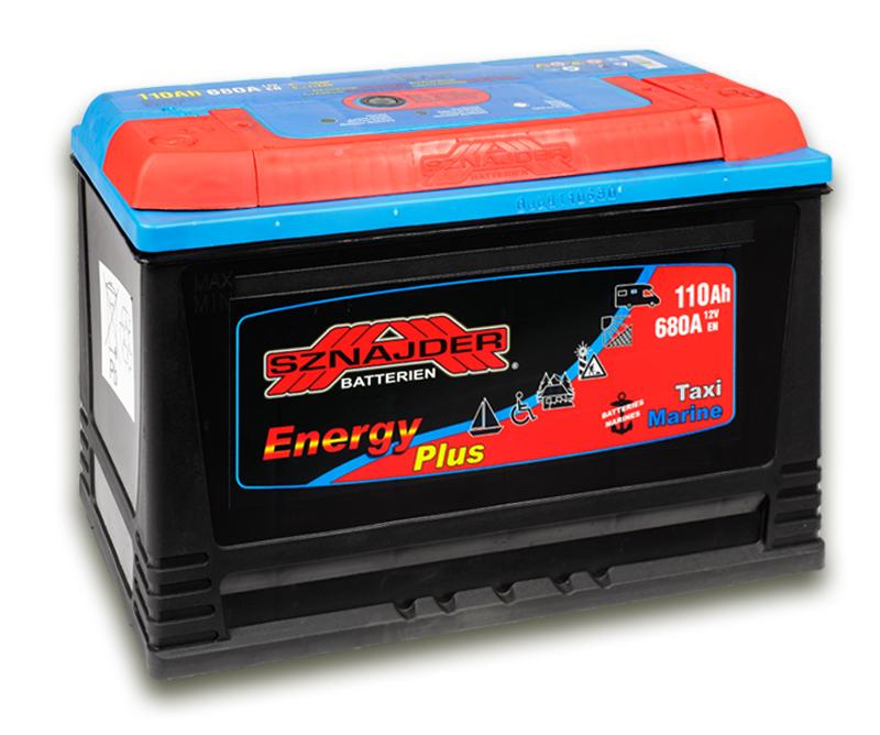 SZNAJDER 961 07 Energy Plus 110 Ah 680 A O(- +) 350x175x230