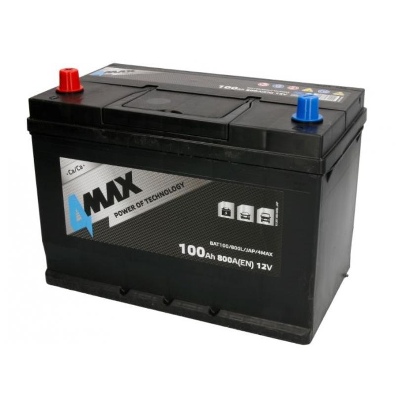 4MAX BAT100 12V 100Ah/800A 305x175x227 B01