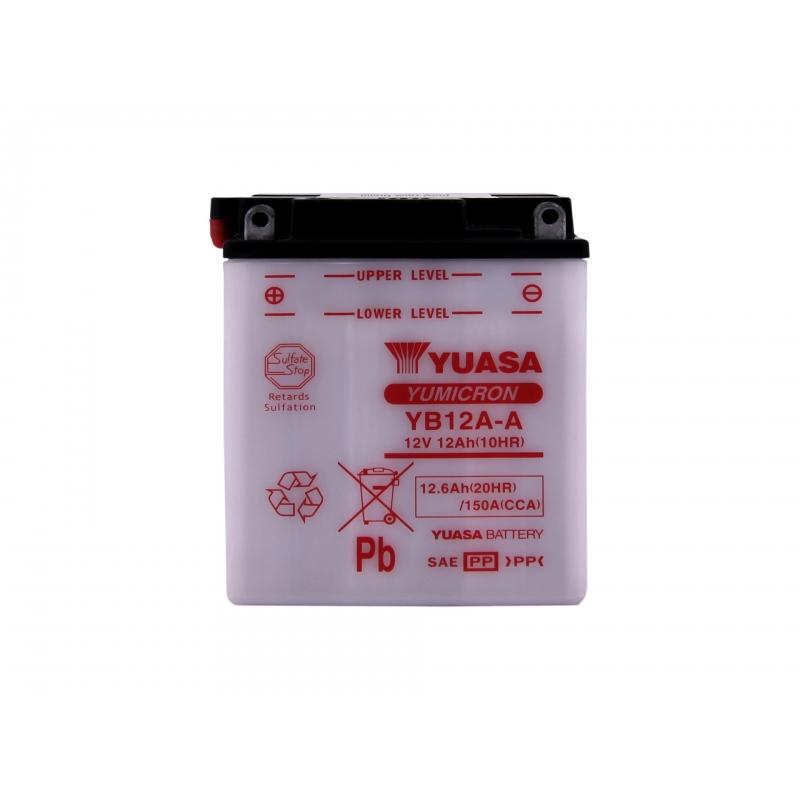 Yuasa YB12A-A 12V 12Ah 150A 134x80x160 +-
