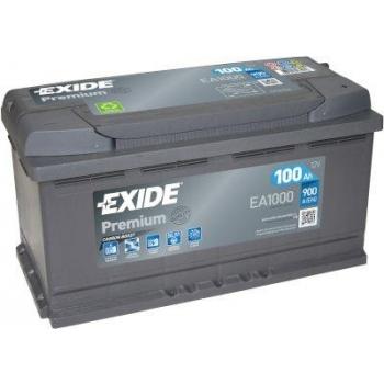 EXIDE S106-EA1000 PREMIUM 100Ah 900A (- +) 353x175x190