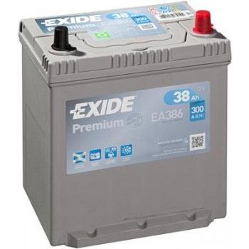 EXIDE S106-EA386 PREMIUM 38Ah 300A (- +) 187x127x220