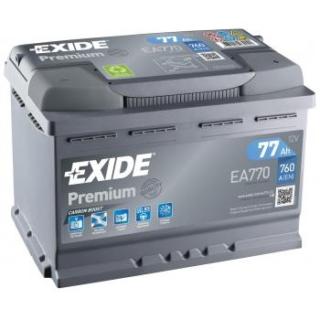 EXIDE S106-EA770 PREMIUM 77Ah 760A (- +) 278x175x190