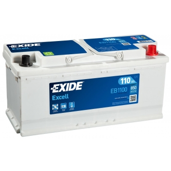 EXIDE S106-EB1100 EXCELL 110Ah 850A (- +) 394x175x190