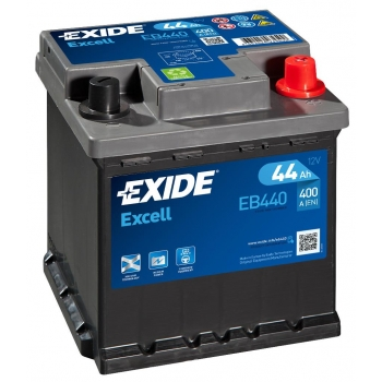 EXIDE S106-EB440 EXCELL 44Ah 400A (- +) 175x175x190