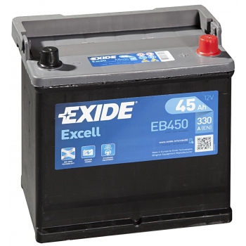 EXIDE S106-EB450 EXCELL 45Ah 330A (- +) 218x133x223