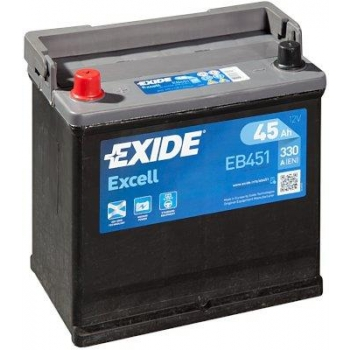 EXIDE S106-EB451 EXCELL 45Ah 330A (+ -) 218x133x223