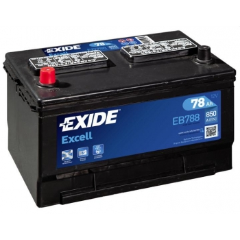 EXIDE S106-EB788 EXCELL 78Ah 850A (+ -) 306x192x192