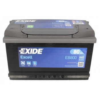 EXIDE S106-EB800 EXCELL 80Ah 640A (- +) 315x175x190