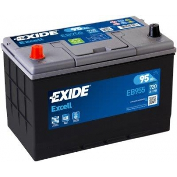 EXIDE S106-EB955 EXCELL 95Ah 720A (+ -) 306x173x222
