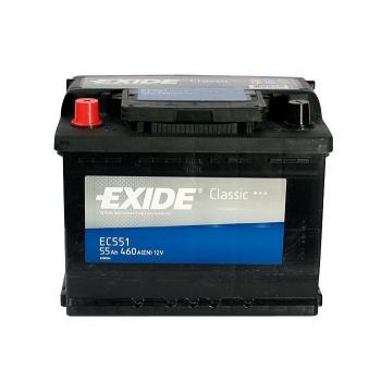 EXIDE S106-EC551 CLASSIC 55Ah 460A (+ -) 242x175x190
