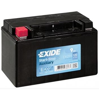 EXIDE S106-EK091 AGM 9Ah 120A (+ -) 150x90x105