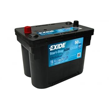 EXIDE S106-EK508 AGM 50Ah 800A (- +) 260x173x206