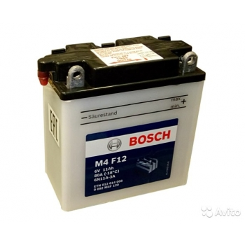 BOSCH MC Fresh pack 6 V 11 Ah 80 A 3 123x61x137