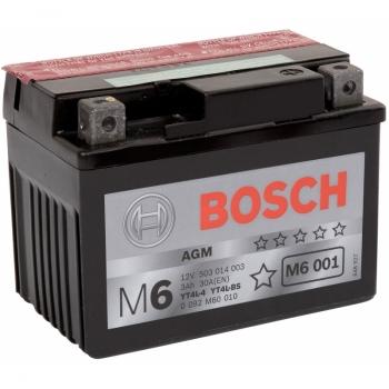 BOSCH MC AGM 12 V 3 Ah 30 A 3 114x71x86