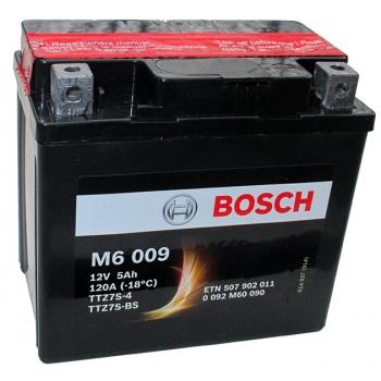 BOSCH MC AGM 12 V 5 Ah 110 A 3 113x70x105