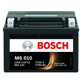 BOSCH MC AGM 12 V 8 Ah 80 A 4 152x88x106