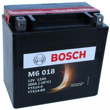 BOSCH MC AGM 12 V 12 Ah 100 A 4 152x88x147