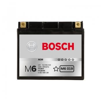 BOSCH MC AGM 12 V 12 Ah 190 A 4 151x70x131