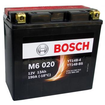 BOSCH MC AGM 12 V 12 Ah 130 A 4 152x70x150