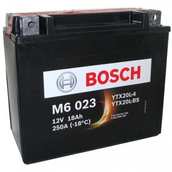 BOSCH MC AGM 12 V 18 Ah 260 A 3 177x88x156
