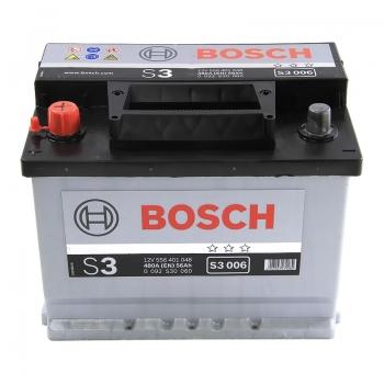 BOSCH S3 56 Ah 480 A 1 (+ -) 242x175x190