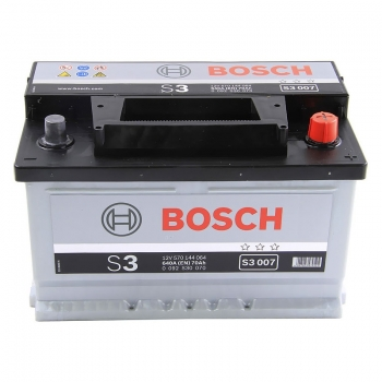 BOSCH S3 70 Ah 640 A 0 (- +) 278x175x175
